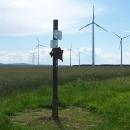 Cyklostezka - značení a větrné elektrárny