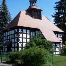 Hrázděný kostelík v Pechernu