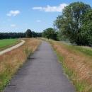 Cyklostezka mezi Bad Muskau a Forstem