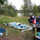 Nocleh u jezera Helenesee nedaleko Frankfurtu nad Odrou