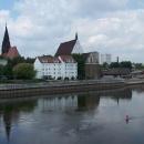Frankfurt nad Odrou je také staré město