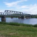 Zrušený železniční most přes Odru