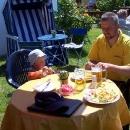 Slavnostní oběd za odměnu v Altenkirchenu