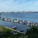 Za mořem je Stralsund = pevnina