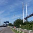 Po 157 km opouštíme Rujanu po starém (zvedacím) mostě