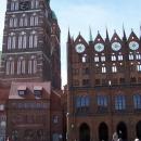 Na náměstí ve Stralsundu