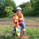 Zastávky na dětském hřišti jsou občas nutné