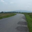Masiv hory Sleža (718m.). První hora po 3 týdnech :-)