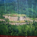 Fotka - letecký pohled na nedobytnou napoleonskou pevnost