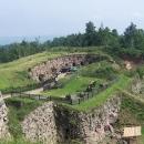 Pohled na vstupní část do pevnosti