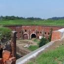 Ještě pohled zhora na jádro pevnosti, tzv. Don Jon