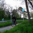 Pavel na cyklostezce