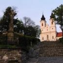 Kostel v Tihany - orientační bod v nekonečnu jezerních břehů