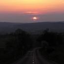 Západ slunce u Balatonu