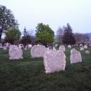 Míjíme starý hřbitov z 18.století