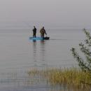 Druhý den ráno jsou již rybáři dávno na vodě