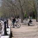 Jirka na nábřeží v Balatonfüredu (zatím bez davů turistů)