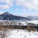 Pohled na Lovoš z Boreče