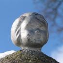 Němá tvář na studánce pod Borečem