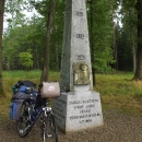 V přepadu je i pomník Jakuba Krčína postavený rybáři po povodních 2002, tehdejší hladina je u jeho vrcholu