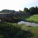 První z kamenných mostů u Staré Hlíny