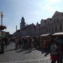Na třeboňském náměstí