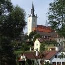 Kostel Nanebevzetí Panny Marie v Rožmitálu na Šumavě