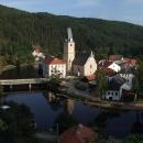 Z hradu je krásný pohled na stejnojmenné městečko
