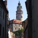 Dominantou města je zámek s typickou věží