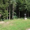 Kousek za parkem míjím místo, kde stávala Walterova hrobka