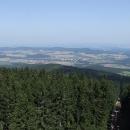 Nejvyšší bod v okolí skýtá nádherný výhled do jižních Čech
