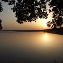 V pozdním večeru u rybníku Dvořiště, kousek do cílových 115km, uff…