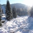 Zasněžená Jizera
