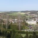 Z místa je také nádherný výhled na město Letohrad a k Orlickým horám