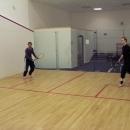 Kromě slevy jsme ještě dostali možnost zdarma si zahrát squash.