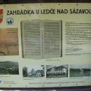 Zahrádka u Ledče nad Sázavou. Kdysi poklidné městečko na břehu řeky Želivky.