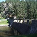 Další přehrada kaskády na Želivce je Vřesník