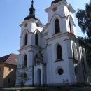 Klášterní kostel Narození Panny Marie v klášteru premonstrátů v Želivu