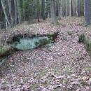 To jsou zbytky hradu Frýdlant v Pekle (najít to byl kumšt)