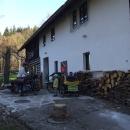 Ráno vyrážíme od Lesovny v sedm hodin