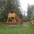A hned vedle stojí nová Rozhľadňa Hviezdoslavova horáreň
