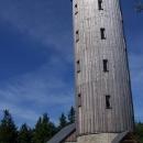 Ale odměna je sladká: nová rozhledna na Borůvkové hoře (899 m.n.m.)