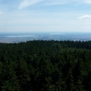 Výhled na polská jezera Otmuchowskie