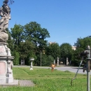 Zdejší zámek, zvaný též Slezské Versailes sice není uzavřený, ale je zarostlý, tak bohužel není jak ho vyfotit