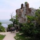 Na nádvoří Dívčích hradů