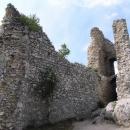 Na Sirotčím hrádku - úzké tělo paláce