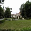 Zámecký park v Mikulově