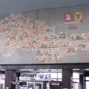 Mozaika na nádraží v Pardubicích, člověku ani po letech nepříjde ten tvar republiky divný :-)