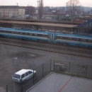 V Ostravě vlak čeká asi hodinu a pak vyráží na další štaci do Prahy