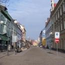 Hlavní bulvár v Bohumíně, kdysi tudy prý jezdila tramvaj do Ostravy